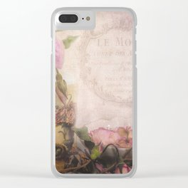 Maison de Jardin Clear iPhone Case