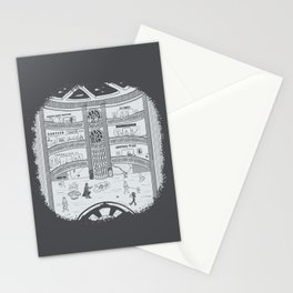 Darth Mall Stationery Cards