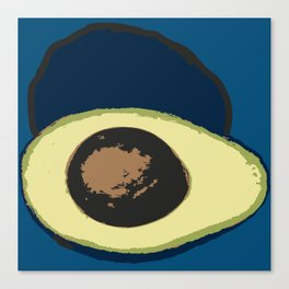 Life Cycle of an Avocado Canvas Print