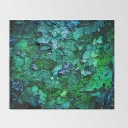 Underwater Wood 2 Throw Blanket