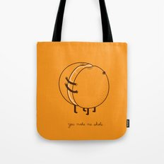 My better half Tote Bag