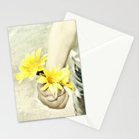 Grandmas Flowers Stationery Cards