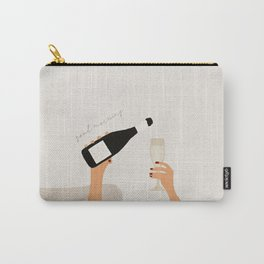 Good morning art print mid century Carry-All Pouch