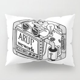 Arup WeWork West Project Patch Pillow Sham