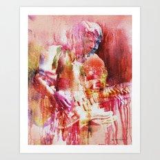 Guitar Theory 1 Art Print