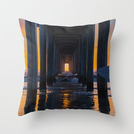 End of the Session Throw Pillow