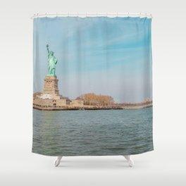 Art Piece by Tania Fernandez Shower Curtain