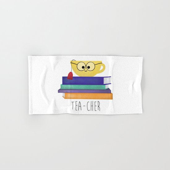 Teacher Hand & Bath Towel