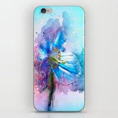 Blue Poppy iPhone & iPod Skin