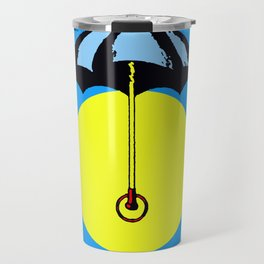 El Paraguas Loteria Mexican Pop Art Travel Mug