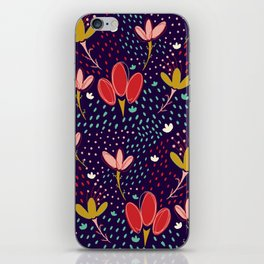 Vintage Ditsy Floral iPhone Skin
