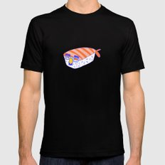Incognito Sushi MEDIUM Black Mens Fitted Tee