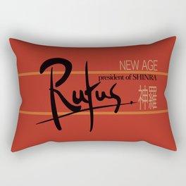 Rufus President of Shinra Campaign Logo - Final Fantasy VII Rectangular Pillow