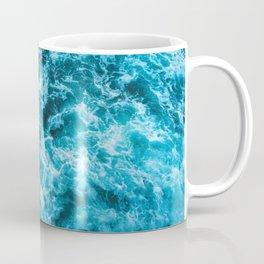 choppy  blue waters Coffee Mug