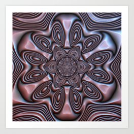 Bronze Flower #1 Art Print
