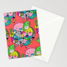 Scribble Ball Stationery Cards