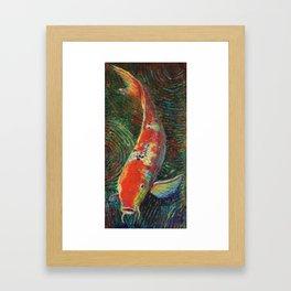 Volunteer Park Koi #10 Framed Art Print