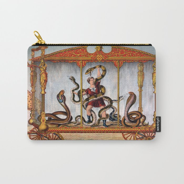 Snake 4 Carry-All Pouch