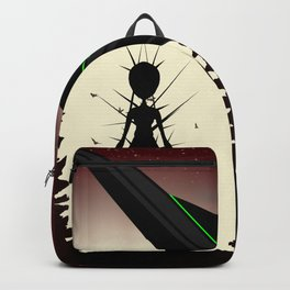 Aliens in the Forest Backpack