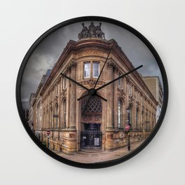 The Old Financial District Wall Clock