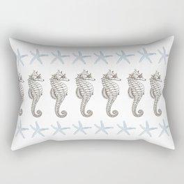 Starfish & Seahorses Rectangular Pillow