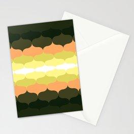 Retro 70s Pattern 5 Stationery Cards