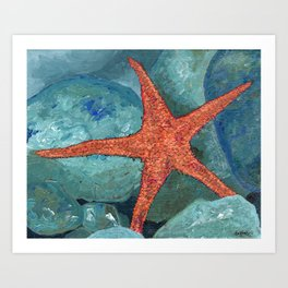 Be The Starfish Art Print