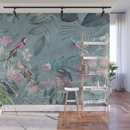 Fancy Jungle World Wall Mural