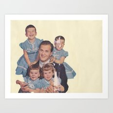 He's a family man Art Print