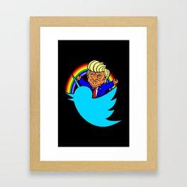 BIGLY TIME! Framed Art Print