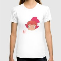 ponyo T-shirts featuring Ponyo by Etiquette