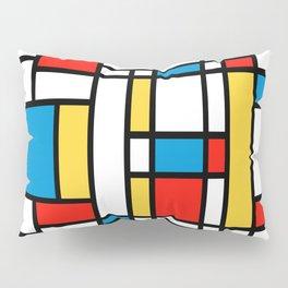 Tribute to Mondrian No2 Pillow Sham