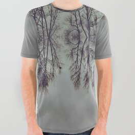 Treeflection I All Over Graphic Tee