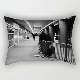 LGA Black & White Rectangular Pillow