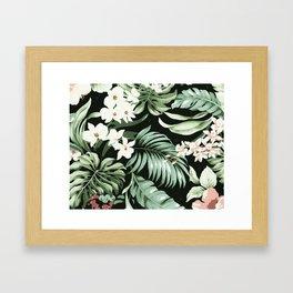 Jungle blush Framed Art Print