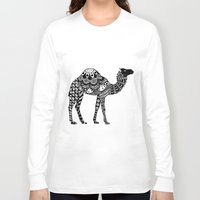camel Long Sleeve T-shirts featuring Camel by Sophie H.