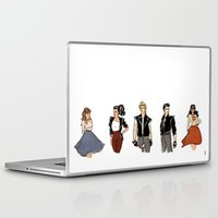 50s Laptop & iPad Skins featuring 50s Thor Gang by veinte9