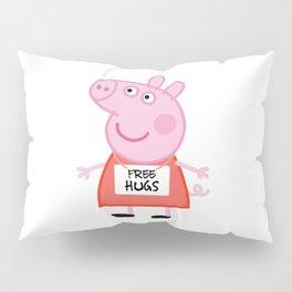 Peppa pig free hugs Pillow Sham