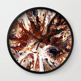 Deconstructed Caramel Sundae Wall Clock