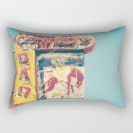 Cowboy Bar Rectangular Pillow
