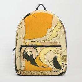 "Henri de Toulouse-Lautrec ""Jane Avril"" Backpack"