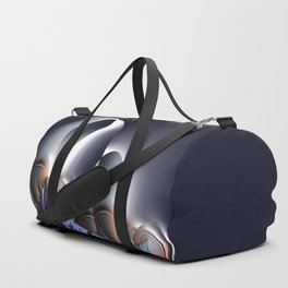 Power of touch - An illusion with fractals Duffle Bag