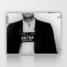Johnny Cash Mug Shot Vertical Laptop & iPad Skin