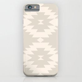Southwestern Minimalism - White Sand iPhone Case
