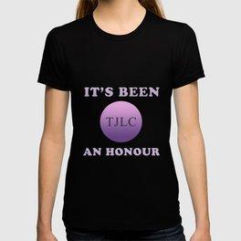 TJLC - It's been an honour T-shirt