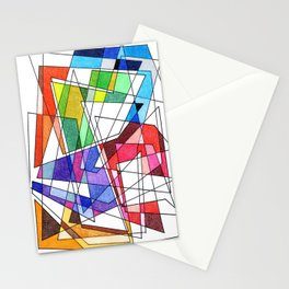 Abstract 10 Stationery Cards