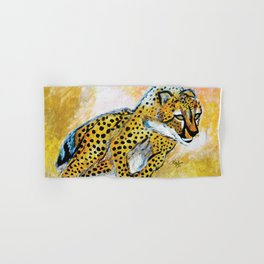 Catch Me If You Can (Cheetah) Hand & Bath Towel