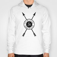 spiritual Hoodies featuring Spiritual Warrior by Intuitive Whimsy