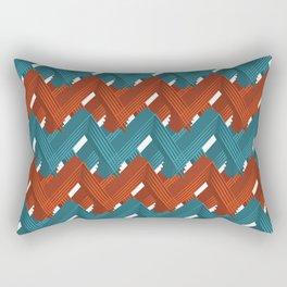 3D Pattern X 1 Rectangular Pillow
