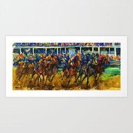 The Race No. 2 by Kathy Morton Stanion Art Print